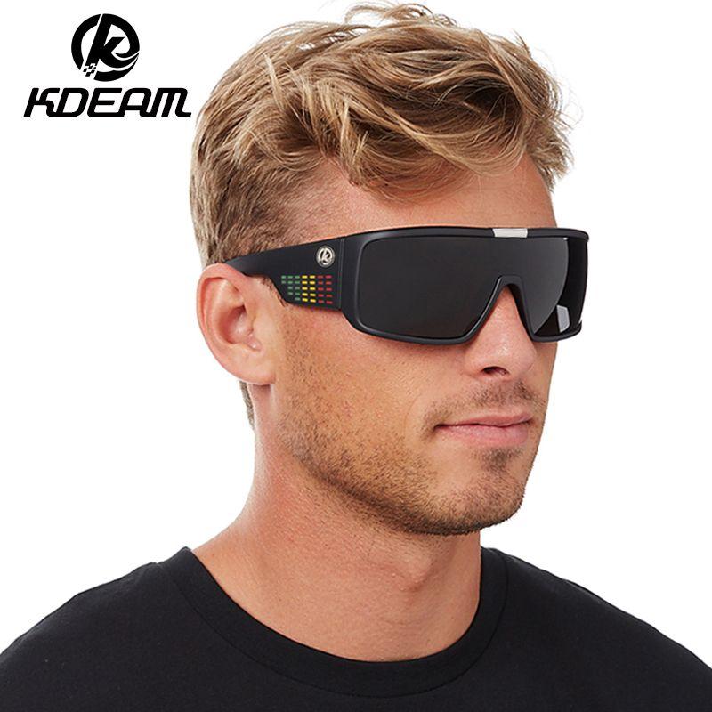1a5dfebda39 KDEAM Dragon Sunglasses Men Sport Goggle Sun Glasses Windproof Shield Frame  Reflective Coating Original Case KD999 Knockaround Sunglasses Sunglases  From ...
