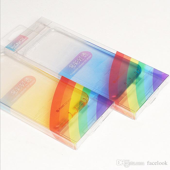 Mac iphone6 / 6s 6s를 위해 새로운 보호 소매 전화 포탄 이동 전화는 투명한 그라데이션 도매 tpu를 놓는다