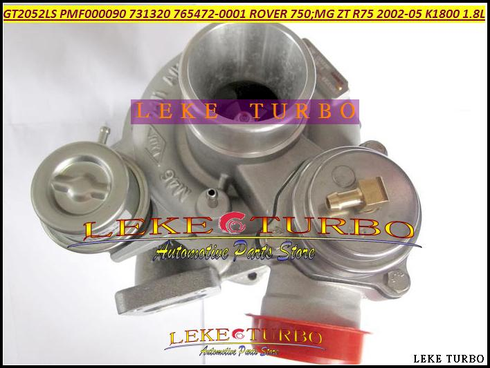 GT2052LS PMF000090 731320-5001S 765472-0001 Turbo Turbocharger For ROVER 75 2002 MG ZT R75 2002-05 K1800 18KAG 1.8L (1)