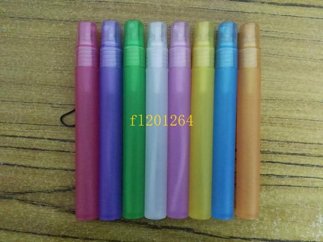 / fedex Spedizione gratuita 15ml bottiglia di plastica spray bottiglia riutilizzabile bottiglia di profumo in PET pompa a spruzzo