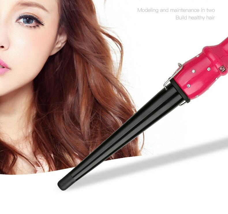 The air bangs ceramic hair stick large inner buckle electric curling not to hurt the hair perm
