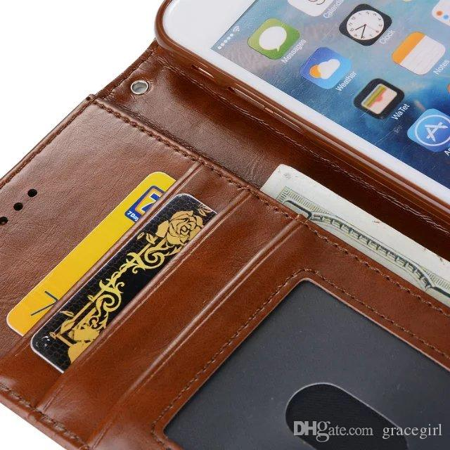 Detachable Magnetic Wallet Leather Case For Iphone 7 Plus I7 IPhone7 6 6S I6 Luxury Korea Style Cards Photo Frame Phone Pouch Cover