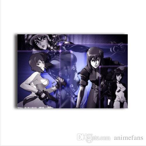 2020 Ghost In The Shell Stand Alone Complex Characters Kusanagi Motoko Poster Kokaku Kidotai Kusanagi Motoko Canvas Painting 11 20 From Animefans 22 12 Dhgate Com