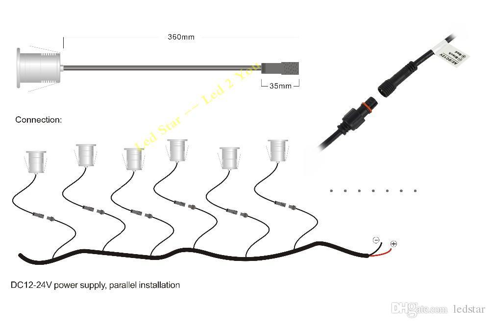 Niederspannungs-LED Landschaftsbeleuchtung im Freien 12V 3W IP68 imprägniern LED-Unterwasserteich-Licht-Lampen-Swimmingpool-LED-Leuchte