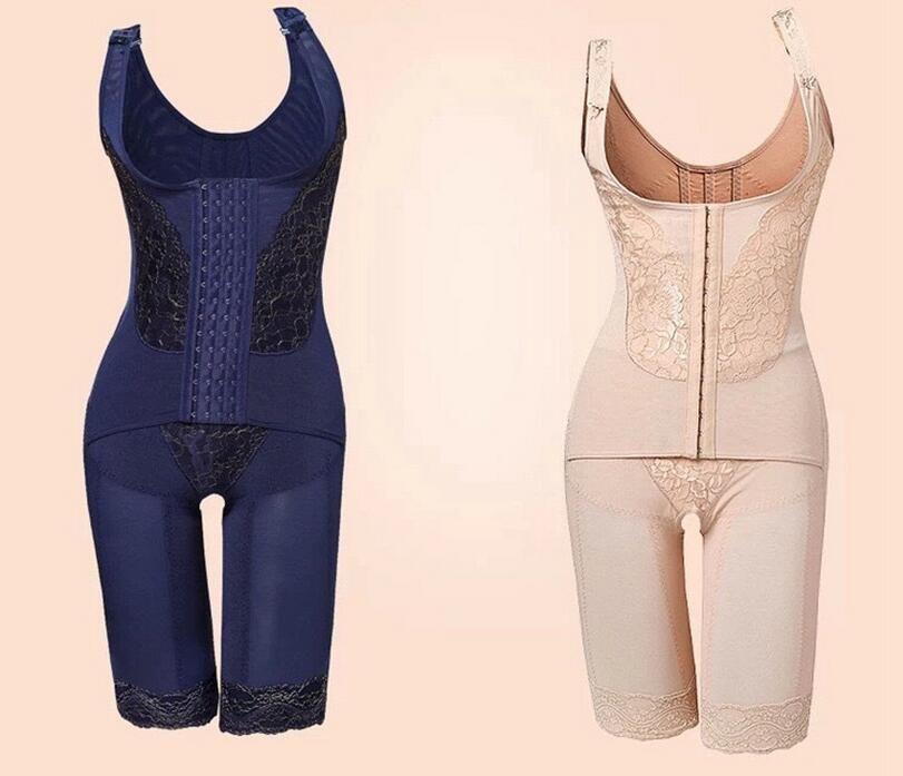 f88d49d47b Wholesale-Plus Size Women Sexy Intimates Full Body Shaper Corset ...