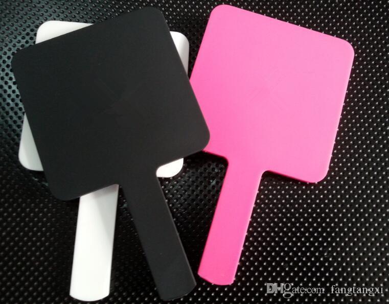 حار 3 اللون الفاخرة ماكياج مرآة مصغرة مرآة خمر اليد مرآة أدوات التجميل مع مربع هدية vip