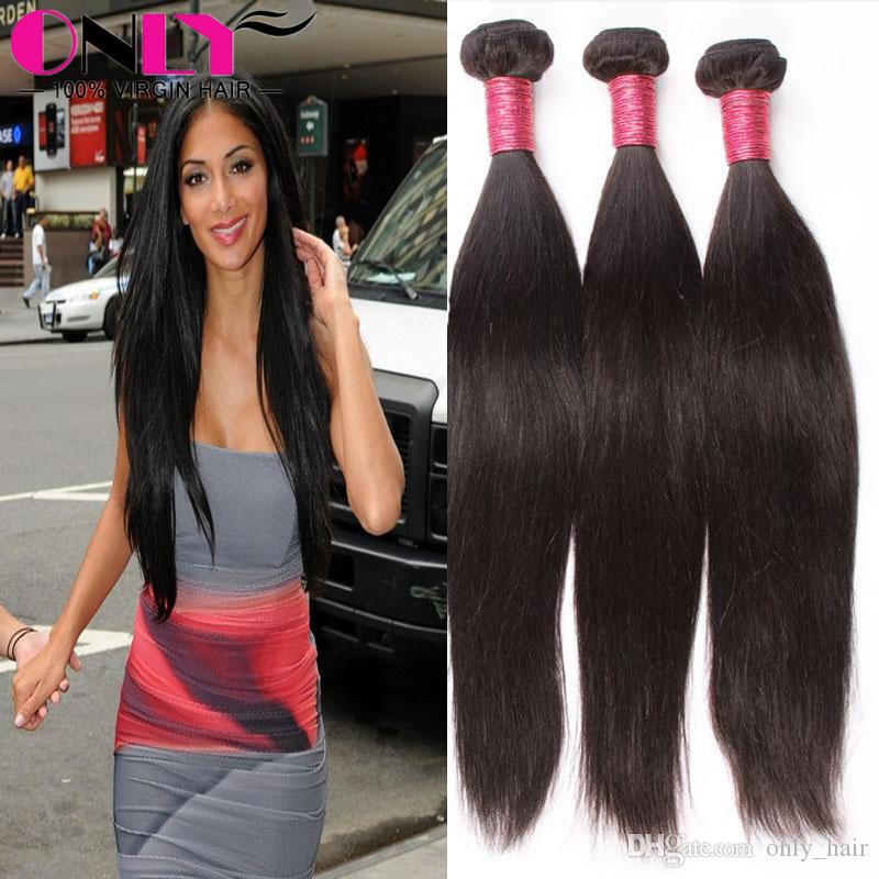 Human weave straight black hair weave styles natural perm straight see larger image pmusecretfo Images