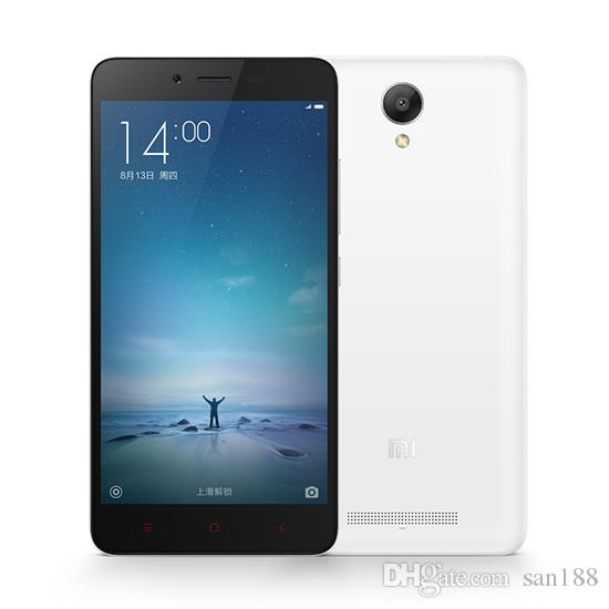 Octa core 4G network Ram 2GB Rom 16GB unlocked original xiaomi Redmi note 2 smart phone inch 5.5 cell phone Android with WIFI GPS Bluetooth