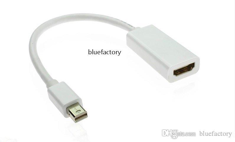 Adaptateur Mini DisplayPort DP vers HDMI Convertisseur de port mini-écran Thunderbolt pour MacBook Pro Air