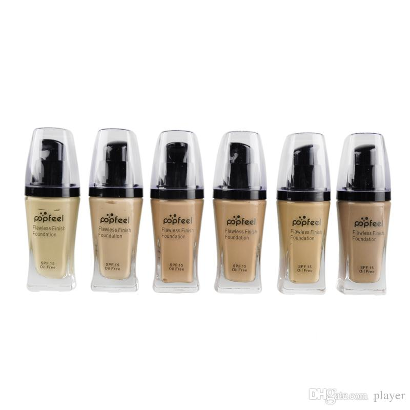 Popfeel Liquid Concealer Foundation Flawless Finish Foundation Popfeel Kosmetik Make-up Foundation 6 Farben Concealer 10 PCS