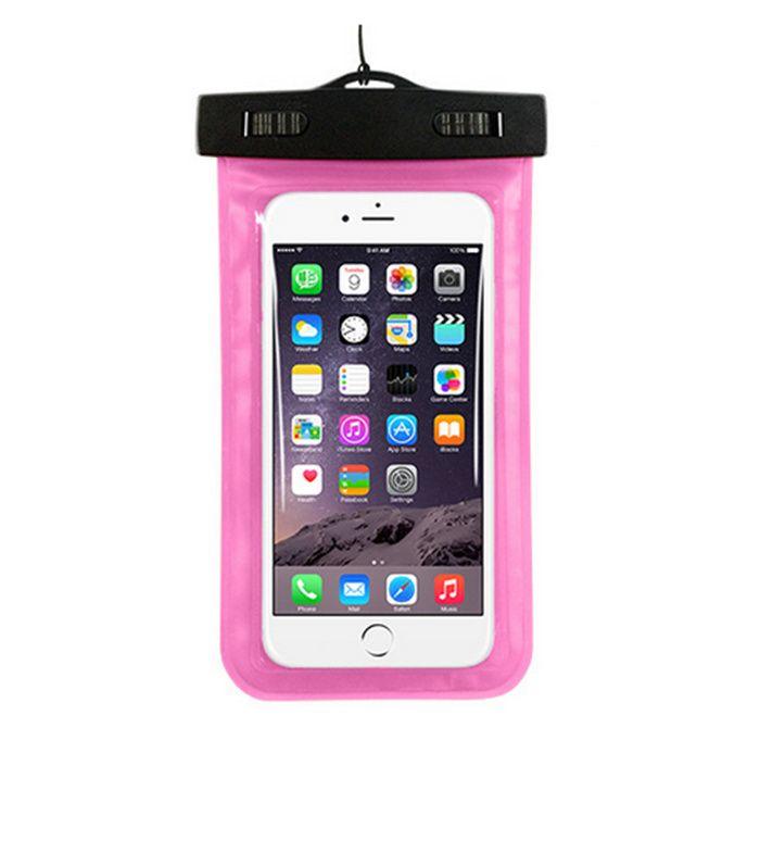 High quality cheap PVC phone waterproof case, summer swimming cell phone waterproof bag, floating waterproof phone bag
