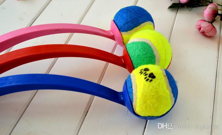 Pet Dog Throw Ball Stick Rod Training Dog Toys pet supplies