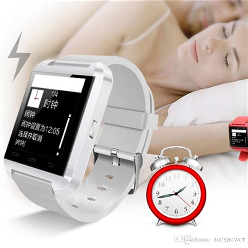 Smart Watch U8 Smartwatch U Watch For iOS iPhone Samsung Sony Huawei Android Phones In Gift Box