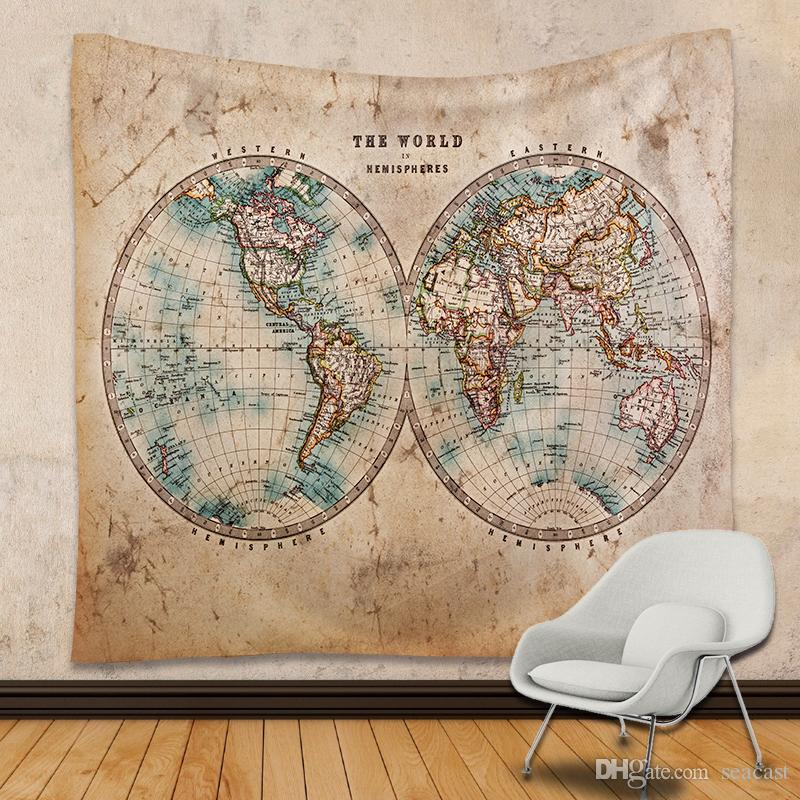 180230 cm world map tapestry hippie throw yoga mat towel united 180230 cm world map tapestry hippie throw yoga mat towel united states spain map polyester beach shawl bath towel tapestries tapestries wall hangings gumiabroncs Choice Image