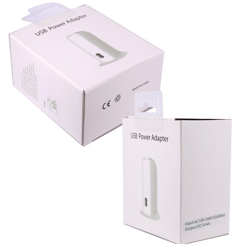 BOAT Real 4.0A 5 Ports 스마트 폰 태블릿 PC 용 / 용 소매 패키지에서 1m 케이블로 5 포트 USB 세로 형 데스크탑 벽면 충전기