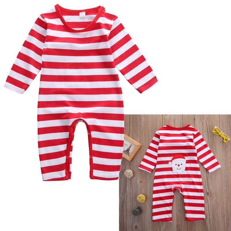 2016 hot christmas rompers Newborn Infant Kids Baby Boys Girls Cotton Jumpsuit autumn winter warm Bodysuit kids boy girl Clothes Outfit top