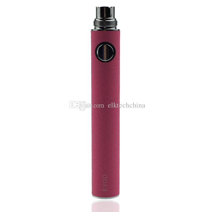 EVOD batería de voltaje ajustable - 650mAh 900mAh 1100mAh traje de batería de cigarrillo electrónico opcional para todas las series ego kit ce4 ce5 mt3