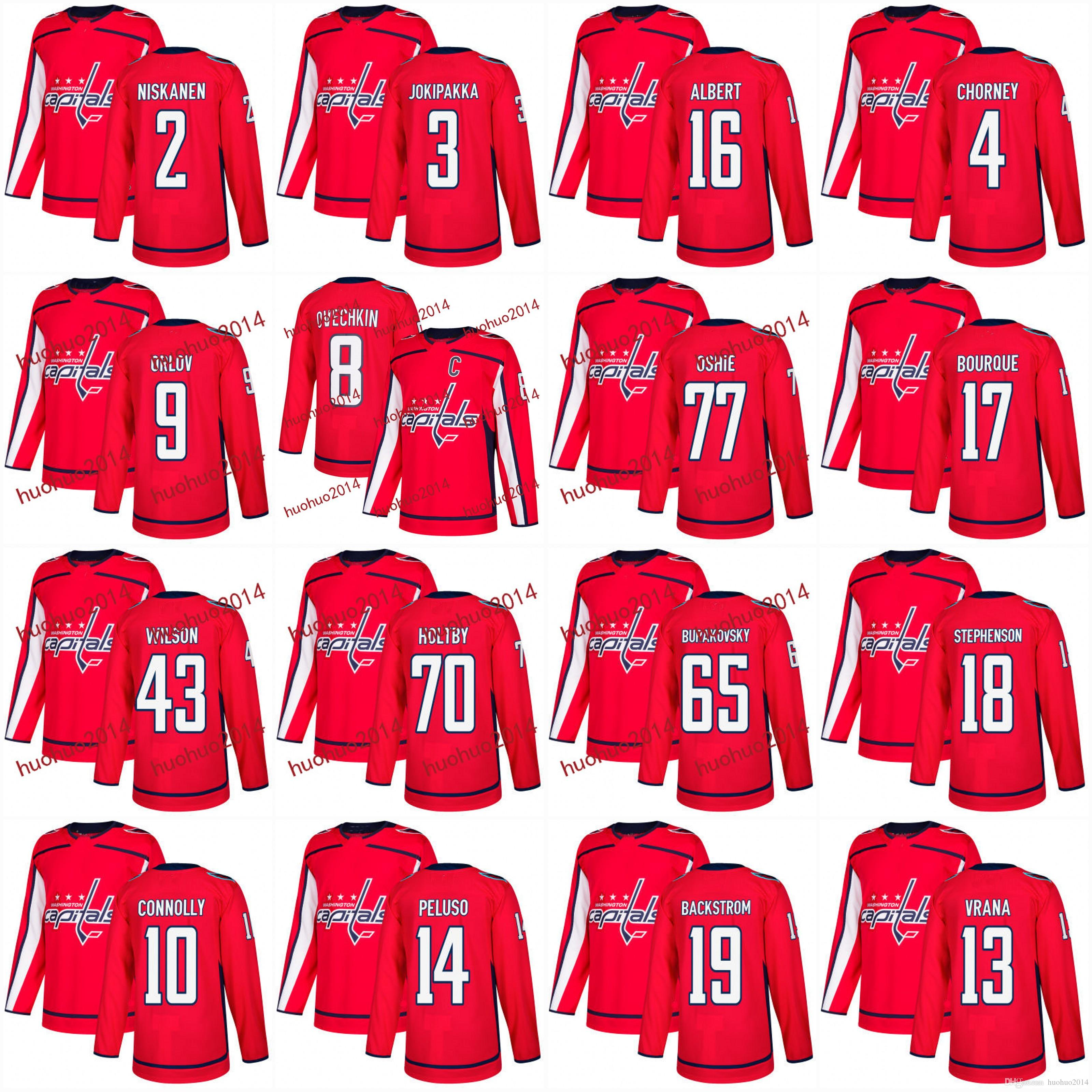 c9bef328537 ... greece 2017 mens washington capitals jerseys 2017 2018 season 8 alex  ovechkin 77 tj fb1e4 28ac2