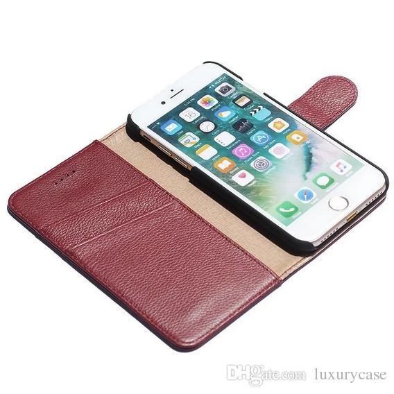 Apple Iphone 7 Plus Custodia Custodia in pelle di alta qualità iPhone Iphone 7 Plus