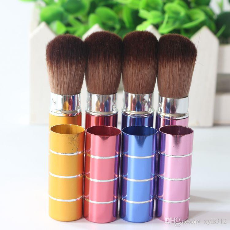 Contraction sweep retractable blush brush trimming loose paint brush Beauty tools makeup brush retractable brush blush brush loose paint car