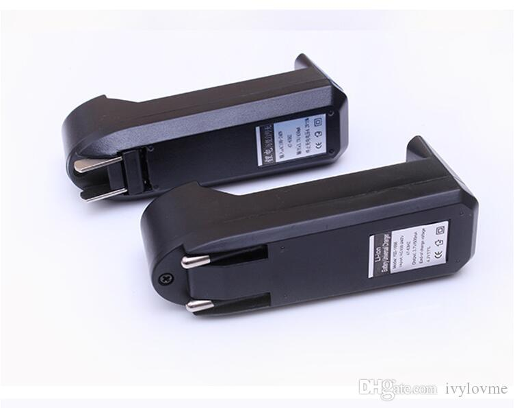 18650 Chargeur universel 18350 Chargeur pour batterie Li-ion rechargeable 18650 18350 18500 26650 16340 Batteries EU US