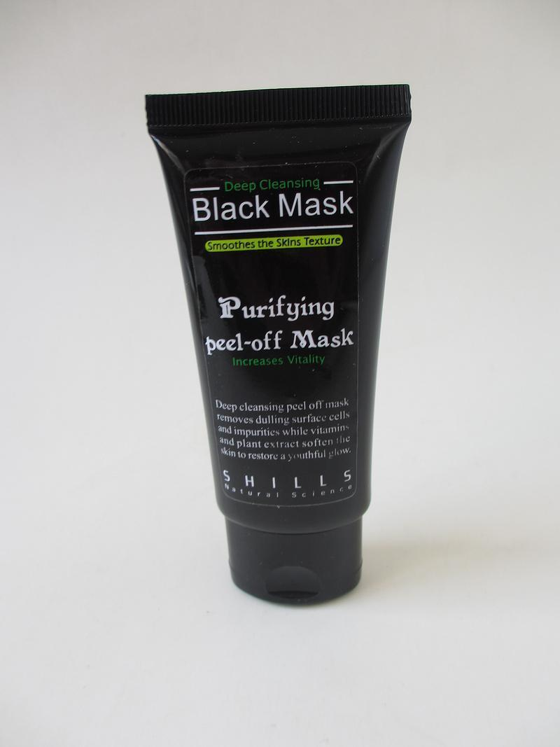 Ücretsiz shills Derin Temizlik arındırıcı peel off Siyah çamur Facail yüz maskesi siyah nokta yüz maskesi 50 ml Kaldır