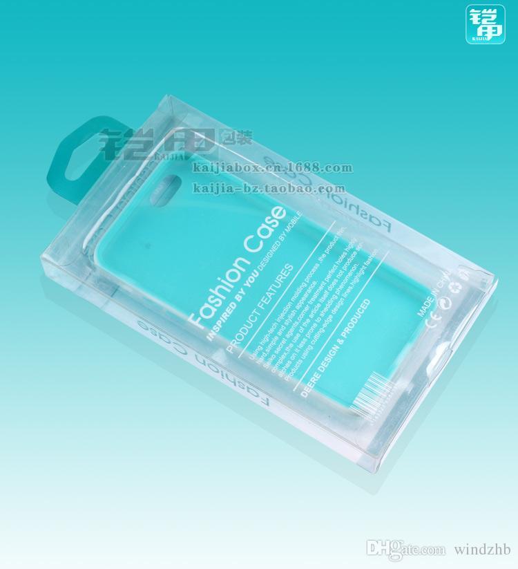 Универсальный розничная пластиковая упаковка пакет коробка для сотового телефона кожаный бумажник чехол для iPhone 7 6 S 6 Plus 5 SE Samsung S6 Edge нет блистер