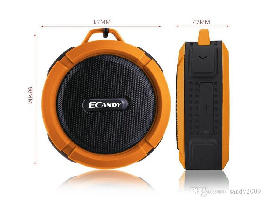 Waterproof Bluetooth Speaker Mini Wireless NFC Super Bass Subwoofer Outdoor Sport Sound Box Portable MP3 Music Player