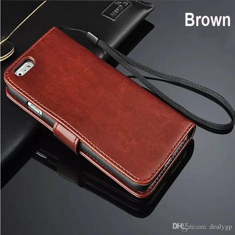 Free DHL Wallet Flip Leather Case Card Slot Phone Cover For Samsung Galaxy E7 J1 S3 S4 S5 S6 Edge Note2 3