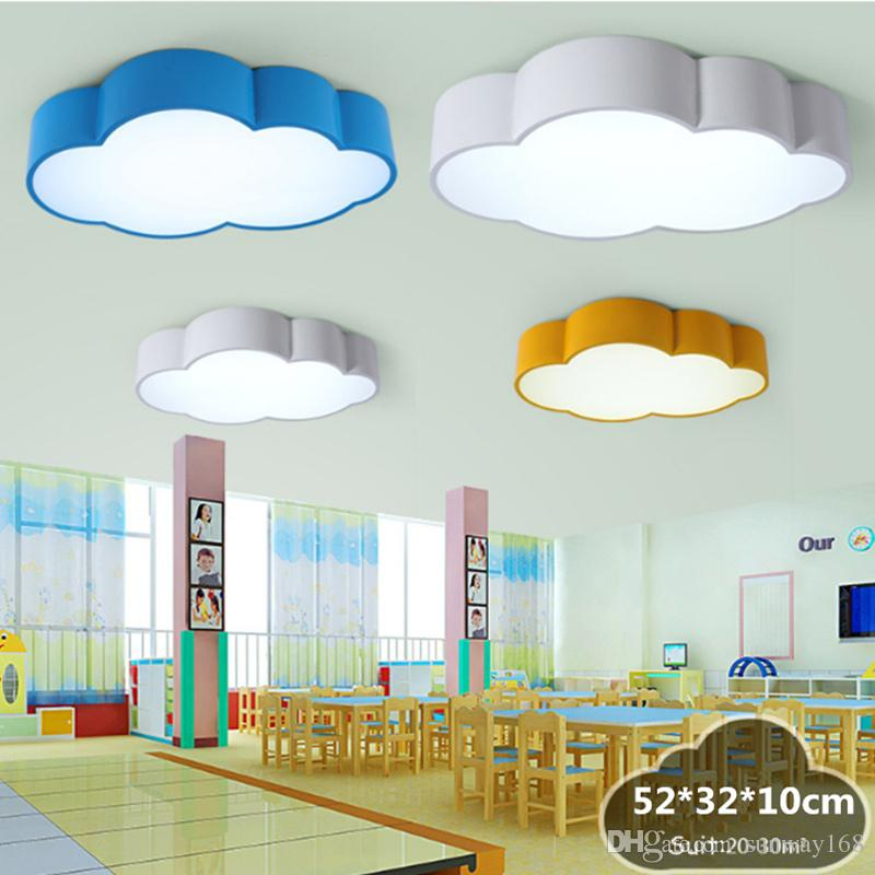 Online Cheap Led Cloud Kids Room Lighting Children Ceiling Lamp Baby  Ceiling Light With Yellow Blue Red White Color For Boys Girls Bedroom  Decoration By ...