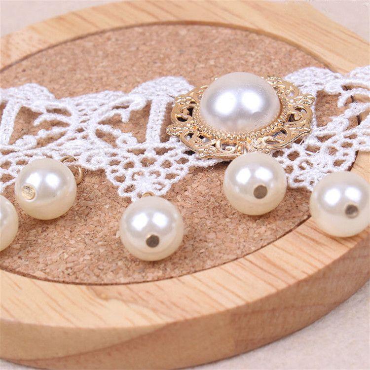 Women Bridal Wedding Gold Pearl Drop Flowers Beach Princess Style White Elegant Beauty Lace Anklet Sandal Foot Bracelet Jewelry
