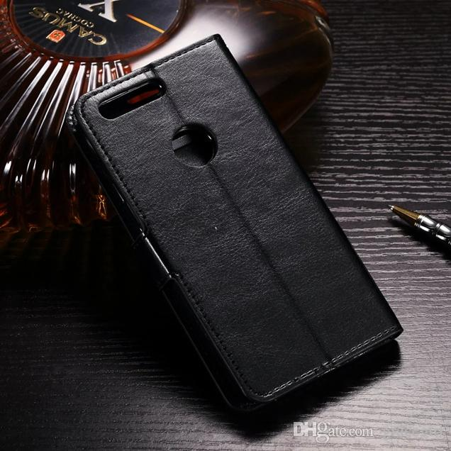 Retro Crazy Horse Wallet Leather Pouch Case For Samsung Galaxy Xcover 4 J5 On5 J7 Prime ON7 Google Pixel XL Huawei NOVA Honor 8 Cover Stand