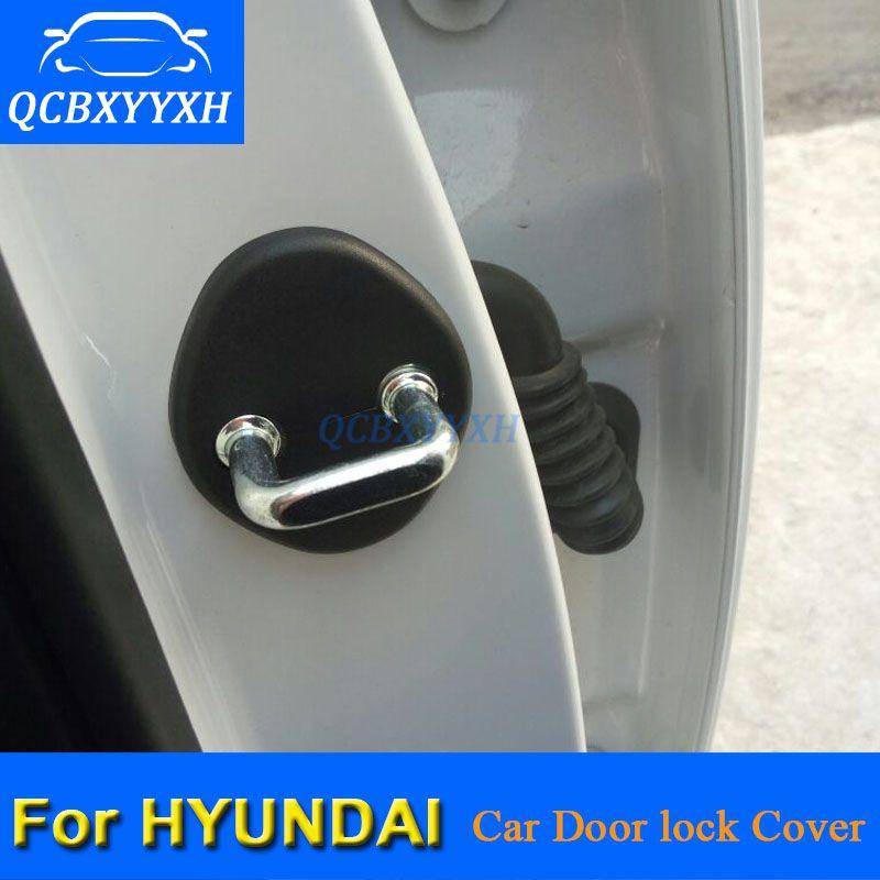 Замок двери автомобиля защитный чехол для Hyundai IX25 Tucson Sonata Elantra Grand Santanfe IX45 двери автомобиля замок украшения авто крышка