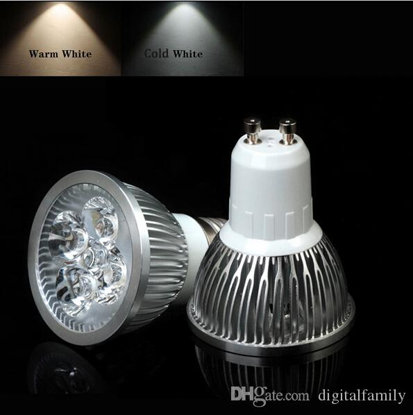 E14 E27 GU10 4W High Power 4w Lâmpada Spot AC85-265V Lâmpada Bulbo Branco / Quente Branco Melhor Price