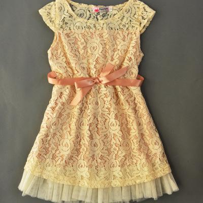 f1591f217 FREE DHL Summer Baby Girls Lace Hollow out Dress Girls Lace Belt ...