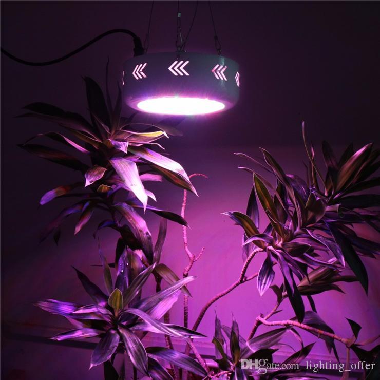LED Grow Lights Alta Potencia de Espectro Completo 216 W UFO Led Crece La Luz para las plantas con flores de iluminación