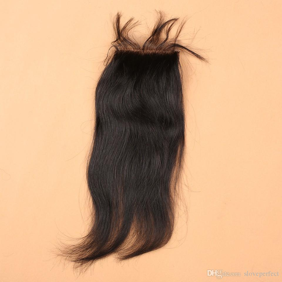 Slove 100% Malaysian Virgin Human Weave Hair Extensions Straight Natural Color Hair Weft Remy Hair Weave