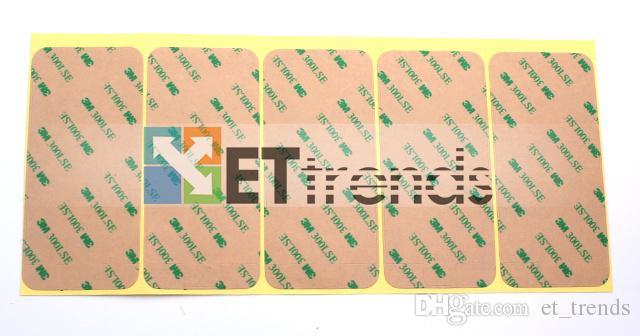 Alta qualidade de toque digitador de vidro Display LCD Tela de montagem de quadros adesivo para iPhone 5 LCD adesivo Quadro frete grátis por DHL