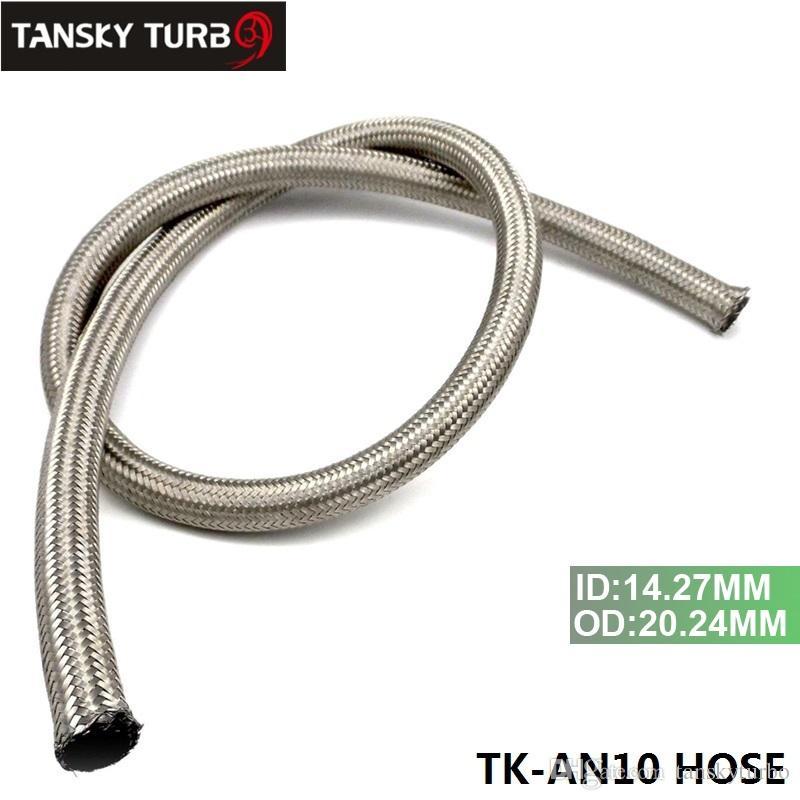 TANKKY - NIEUWE 10AN EEN -10 1M RVS Strandstofolie Gas Gevlochten Slangleiding TK-AN10 SLANG