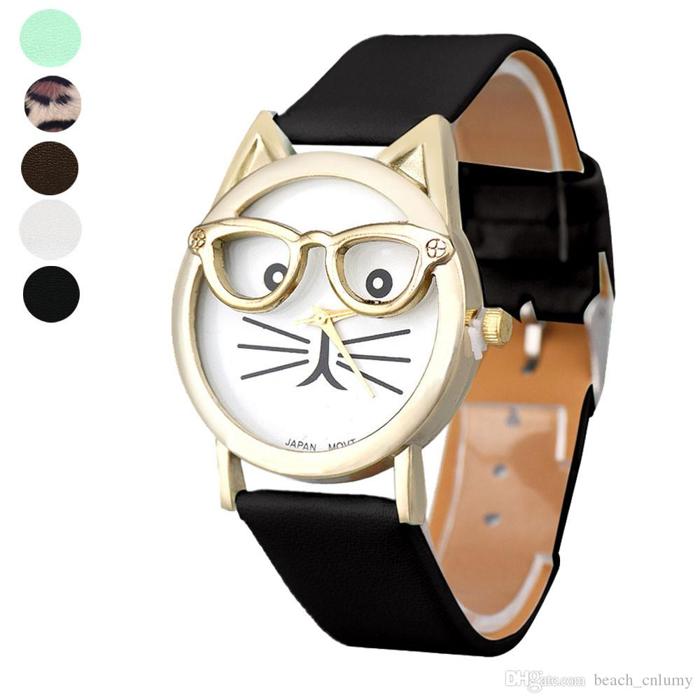 watches b kids proof water cartoon expression girl quartz children font colors sports cute lovely leather products student different