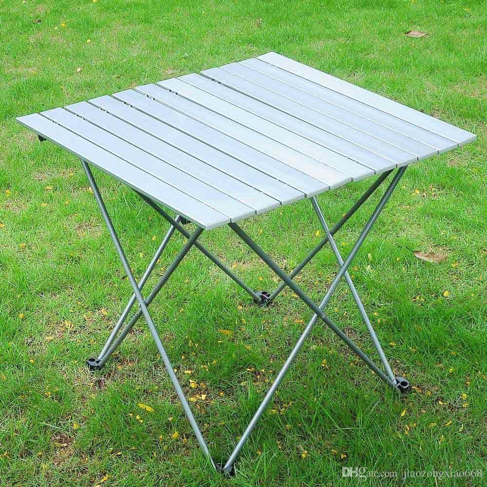 Tavolo Per Esterno Pieghevole.Acquista Tavolo Da Esterno Pieghevole In Alluminio Da Campeggio