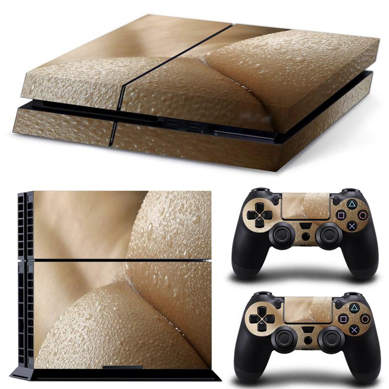 Ps4 skins decals vinyl cover sexy beach for playstation 4 console and 2 controllers ps4 skin decal ps4 controller skin playstation 4 console skin online