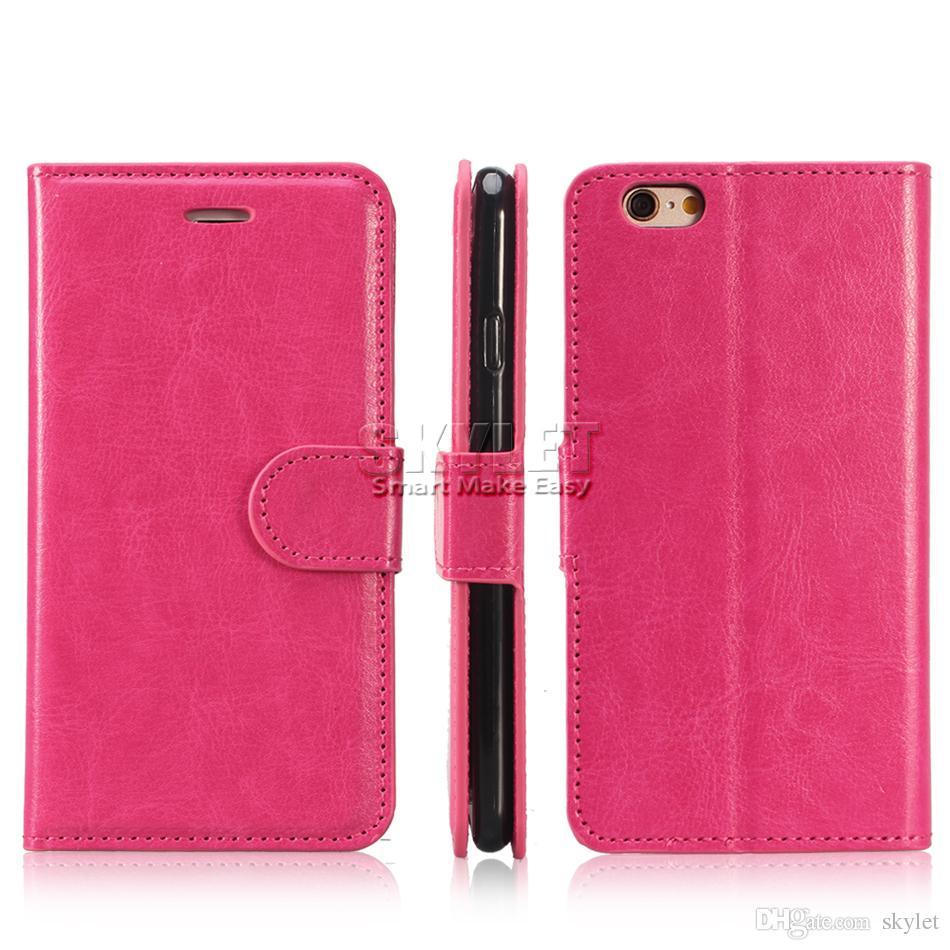 Pour iPhone 11 PRO XS MAX XR XS Étui de téléphone PU Étuis de portefeuille avec cadre photo Étui en cuir Couvre pour S10 S10 PLUS Note 9 S9 PLUS Note10