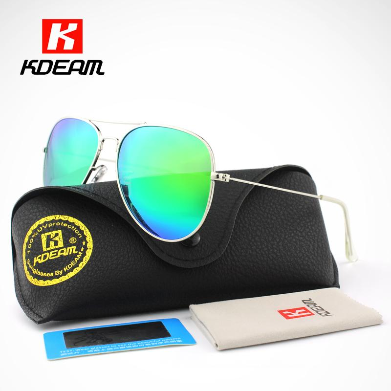 fbcf5b0029 Wholesale- Pilot Sunglasses Men Polarized G15 62  Lens Large Sun ...