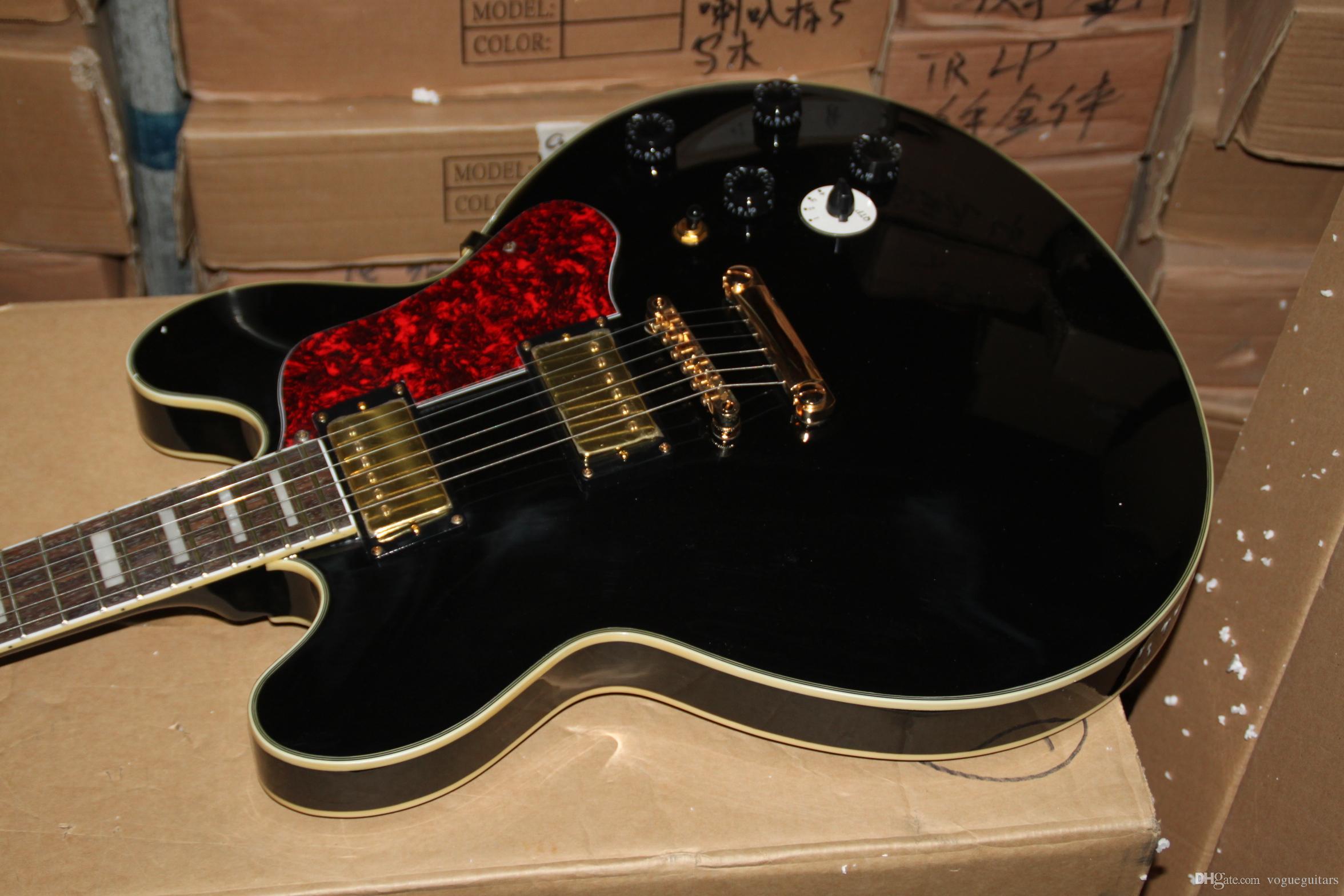 Оптовая гитара черный пользовательские BBK электрогитара лучшие продажи музыкальных инструментов Бесплатная доставка горячая
