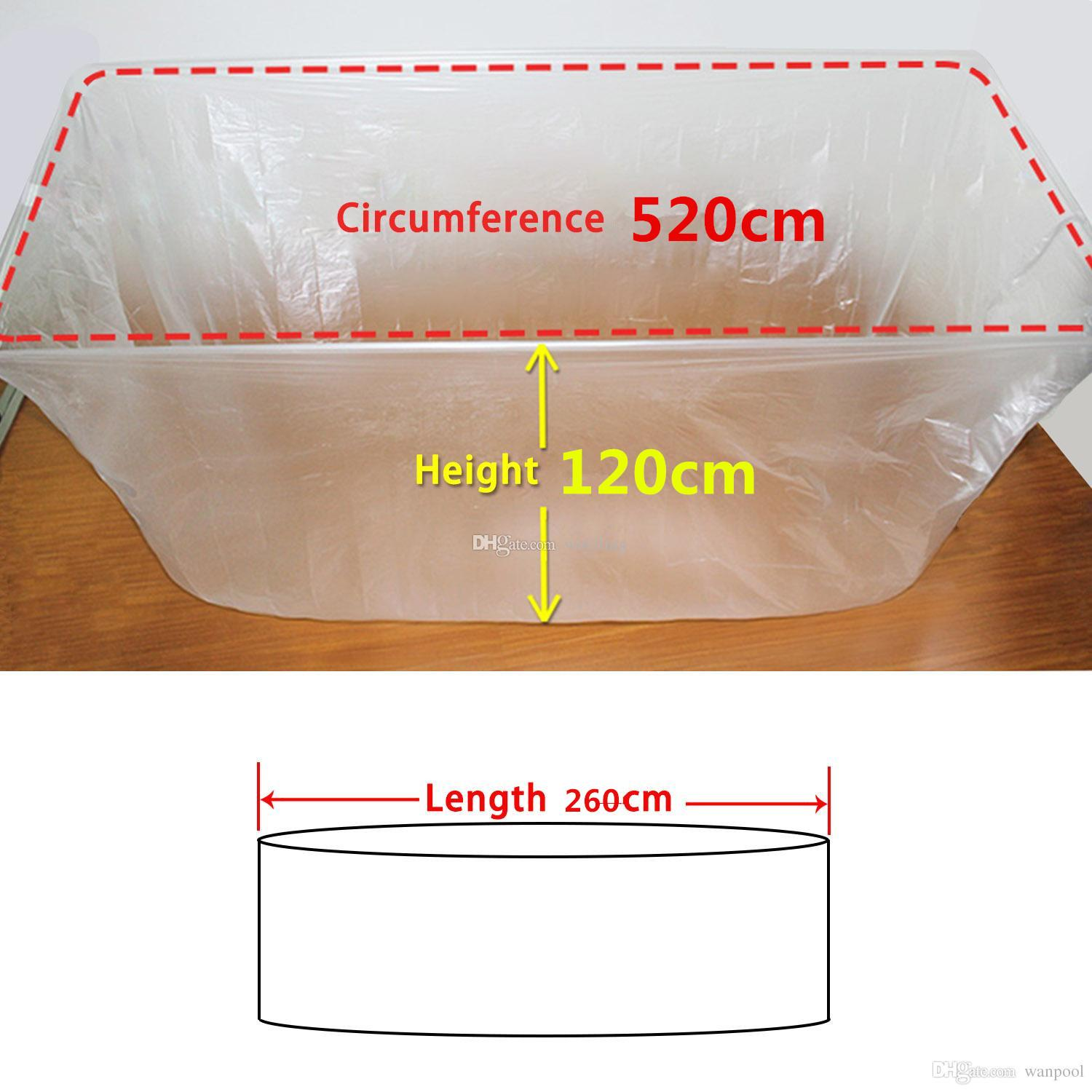 2018 Disposable Film Bathtub Lining Bags For Salon, Household And ...
