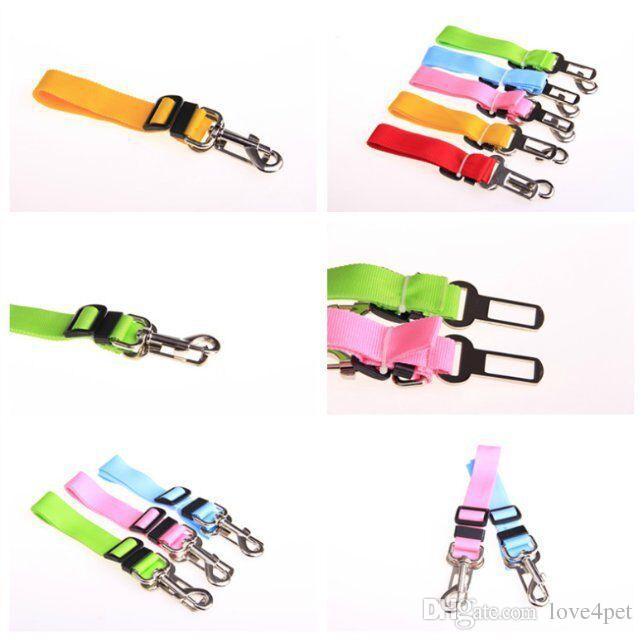 D16 chien ceinture de sécurité pour chien ceinture de sécurité pour chien chien ceintures de sécurité de voiture réglable laisses chien livraison gratuite