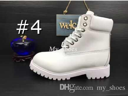 Imperméable à l'eau D'origine Qualité Martin Cheville Bottes Tout Neuf Hommes Travail Randonnée Chaussures En Cuir En Plein Air Hiver Neige Bottes multi couleurs Taille 5.5-13