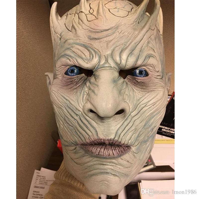 2018 Neue Party Cosplay Spielmaske Halloween Kostüme Game of Thrones Kostüm Zombie Masken Volle Kopfmaske Cosplay Halloween Outfit
