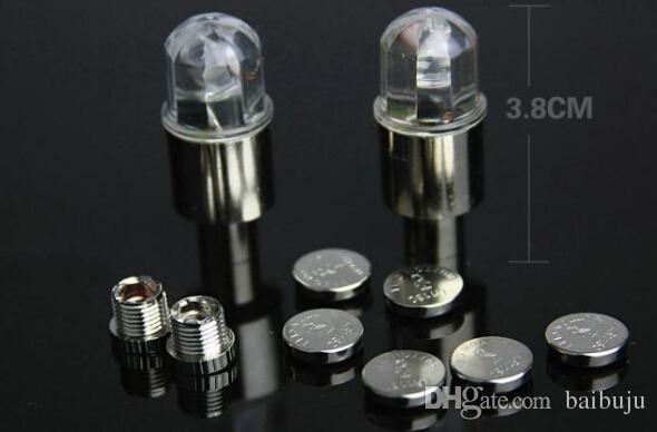 mountain bike firefly spoke LED wheel valve stem cap tire motion neon bike light